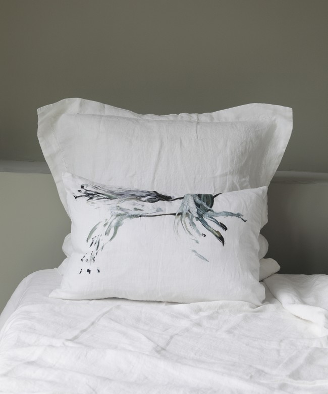coussin lin zoom tige
