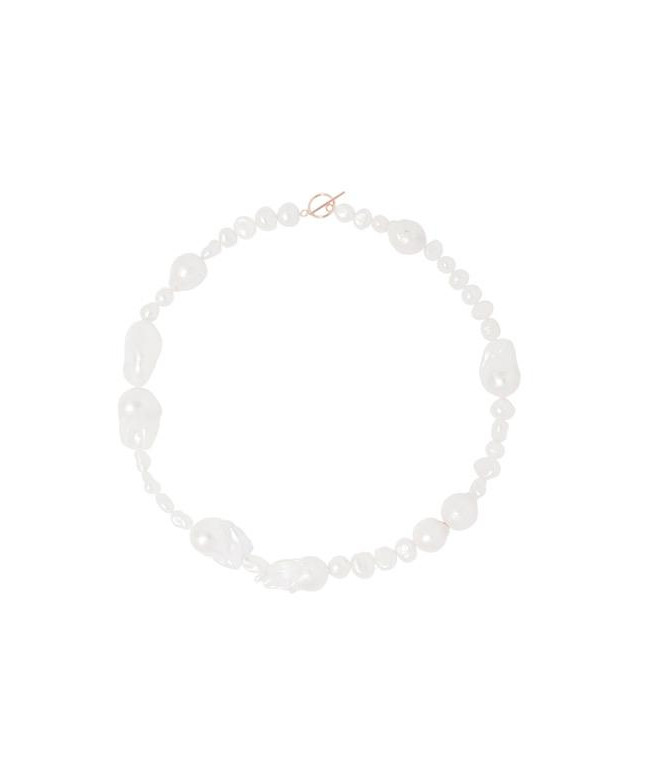 collier perles baroques
