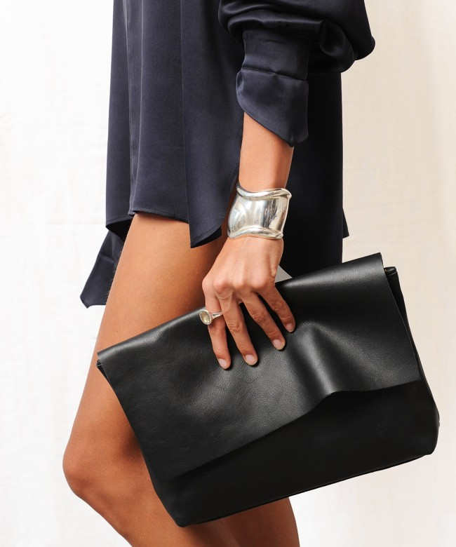 Clutch Bag LOU black