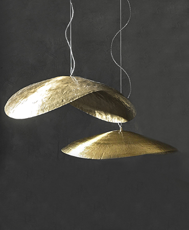 brass luminaires small and big models