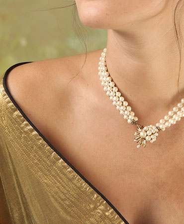 cornus triple necklace