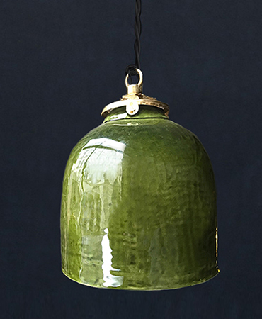 bell lamp olive